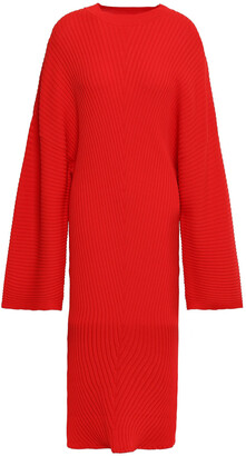 SOLACE London Nadi Ribbed-knit Dress