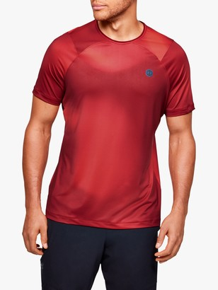 Under Armour Rush HeatGear Fitted Short Sleeve Training Top