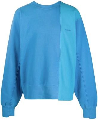 Ambush Slouchy Two-Tone Sweatshirt