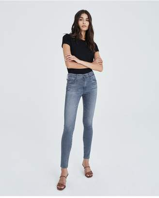 AG Jeans The Farrah Skinny - Gray Light