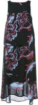 Diesel floral print drawstring dress - women - Polyester - XS