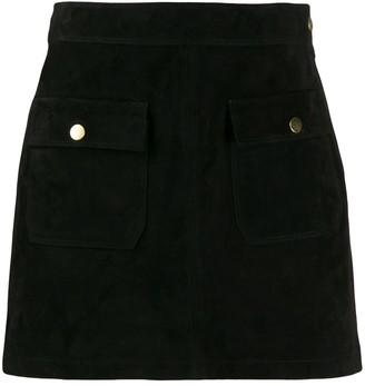 Frame Bardot mini skirt