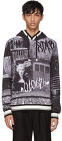 Dolce & Gabbana Black and White Marilyn Hoodie