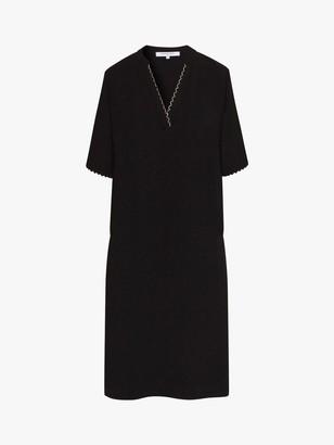 Gerard Darel Satine Shift Dress, Black