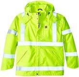 Carhartt Men's Big & Tall High Visibility Class 3 Waterproof Jacket