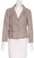 RED Valentino Woven Notch-Lapel Blazer w/ Tags
