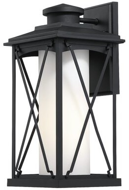 Gracie Oaks Oologah 2 Light Outdoor Wall Lantern Shopstyle