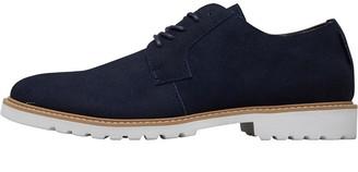 Ben Sherman Napoli Suede Shoes Navy