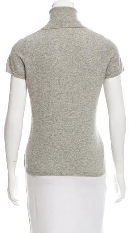 Magaschoni Short Sleeve Cashmere Top