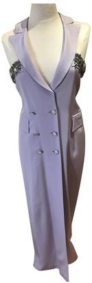 Jean Louis Scherrer Jean-louis Scherrer Purple Silk Dress for Women