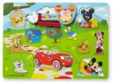 Melissa & Doug Disney Mickey Mouse Clubhouse Hide & Seek Wooden Magnetic Game by
