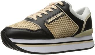 Armani Jeans Women's Double Decker Sneaker Fashion