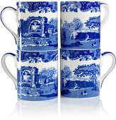 "Spode Blue Italian"" Mugs, Set of 4"
