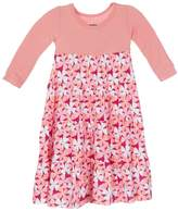 Kickee Pants Apple Blossom Tiered Dress