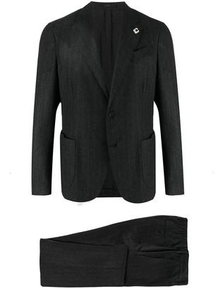 Lardini Pinstripe Two-Piece Suit