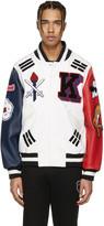 Opening Ceremony White Korea Global Varsity Jacket