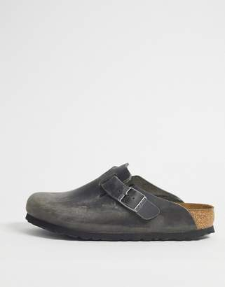 Birkenstock Boston clog in grey