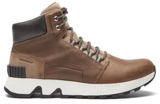 Sorel Mac Hill Suede Boots - Dark Brown