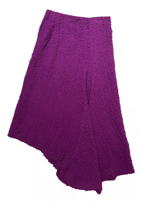 Victoria Beckham Purple Synthetic Skirts