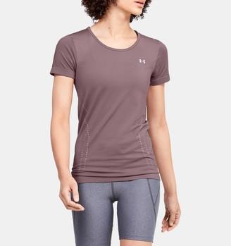Under Armour Women's UA Seamless Short Sleeve