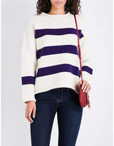 MiH Jeans Yardley striped wool and cashmere-blend jumper