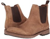 Frye Bowery Chelsea (Faded Brown Distressed Suede) Men's Boots
