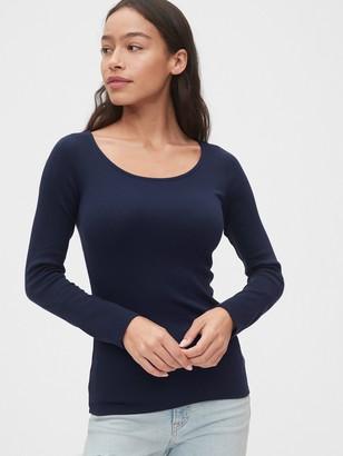 Gap Modern Scoopneck Long Sleeve T-Shirt