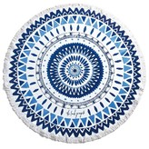 The Beach People 'Majorelle' Round Beach Towel