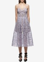 Self-Portrait Self Portrait Laelia Lace Dress Blue