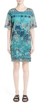 Fuzzi Women's Batik Print Shift Dress