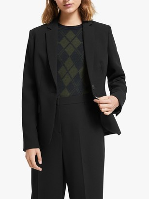 John Lewis & Partners Tailored Blazer, Black