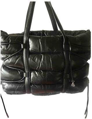 Moncler \N Black Leather Handbags