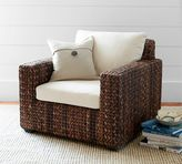 Pottery Barn Seagrass Square Armchair