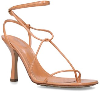Bottega Veneta Leather Line Sandals 90