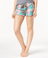 Jenni by Jennifer Moore Plaid Boxer Pajama Shorts, Only at Macy's