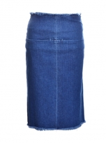 Aries Romford Denim Skirt in Blue