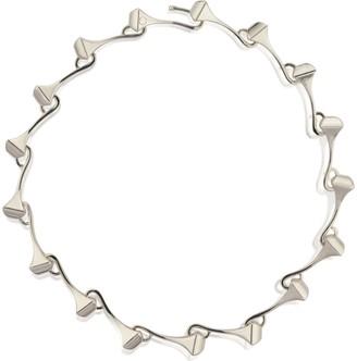 Cristina Cipolli Jewellery Amazon Choker Silver