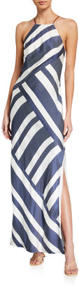 Trina Turk Vacay Halter Maxi Dress