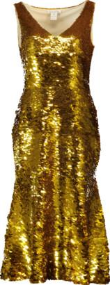 Oscar de la Renta Flounce Dress
