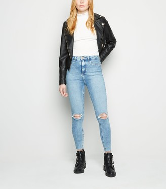 New Look Ripped Super Skinny Hallie Jeans
