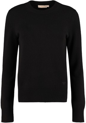 Tory Burch Crew-neck Cashmere Sweater