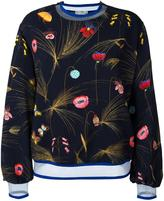 Fendi floral print blouse - women - Polyamide/Polyester/Spandex/Elastane/Viscose - 38
