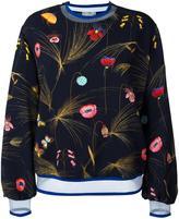 Fendi floral print blouse - women - Polyamide/Polyester/Spandex/Elastane/Viscose - 42