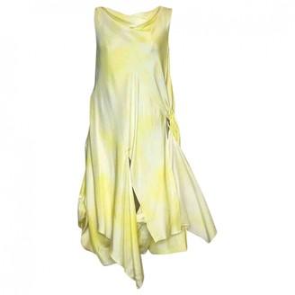 Thakoon Yellow Silk Dress for Women