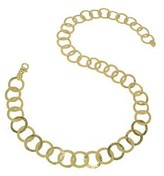 Torrini Tuscania - 18K Yellow Gold Large Chiselled Chain