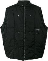 Raf Simons back photo print vest - men - Polyester - 46