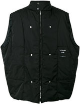 Raf Simons back photo print vest - men - Polyester - 48