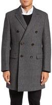 Ted Baker Men's Roswell Wool Blend Overcoat