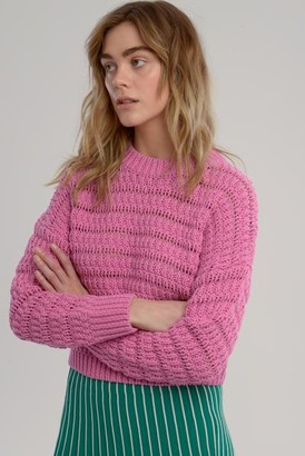 ASTR the Label The Bonni Knit In Pink - XS