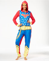 Briefly Stated Wonder Woman Hooded Jumpsuit